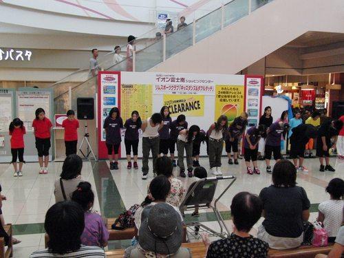 HIPHOP DANCE & DOUBLE DUTCH  イオン富士南店 イベント出演!