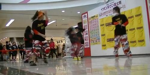 HIPHOP DANCE & DOUBLE DUTCHショーケース イオン富士南店 イベント動画をアップしました!